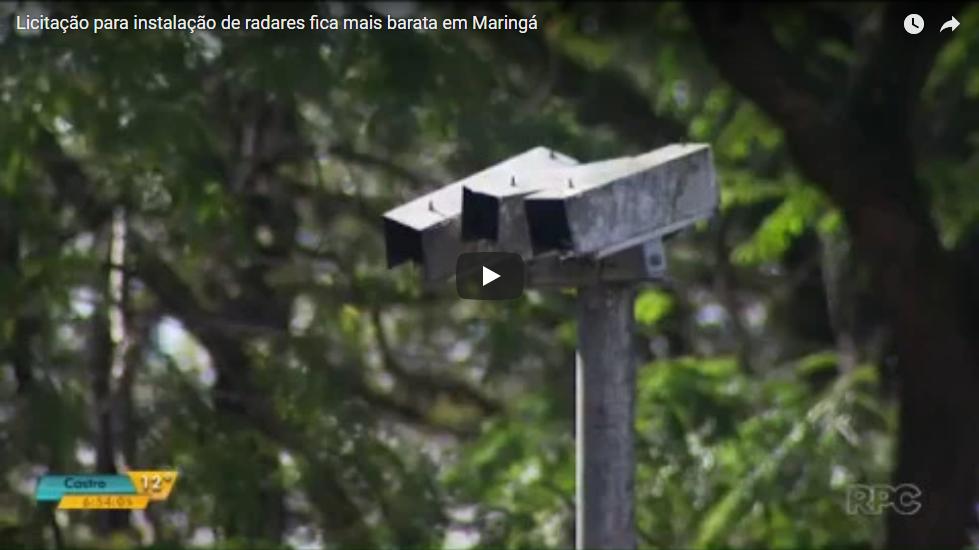 Licitação Para Instalação De Radares Fica Mais Barata Em Maringá – Atuação Observatório Social De Maringá